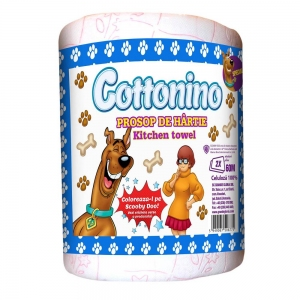 COTTONINO KITCHEN TOWELL ROLL SCOOBY DOO 4